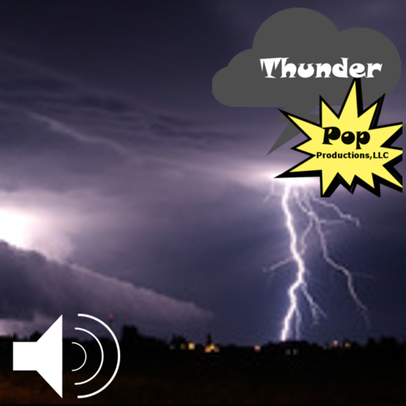 Thunder Sound Effects Sound Library - Sound effects library - Thunder Pop  Productions